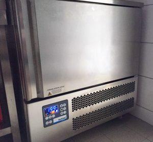 """Abkühlung des Fleisches auf -40 °C im """"fresh-frozen"""" Verfahren"""