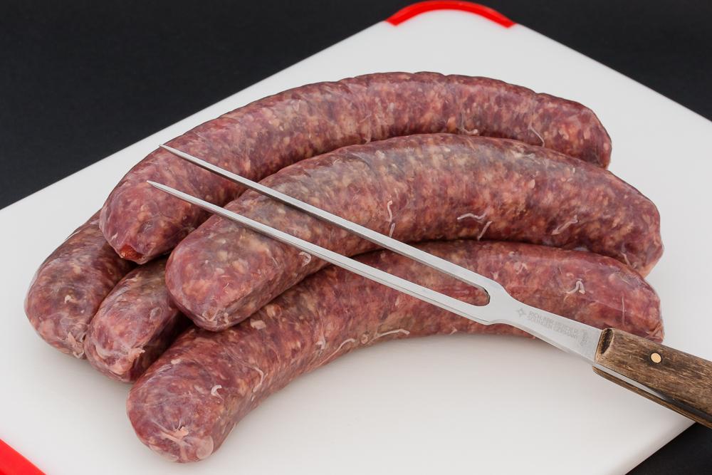 Art.-Nr.: 2018 Bratwurst Schwein ungebrüht