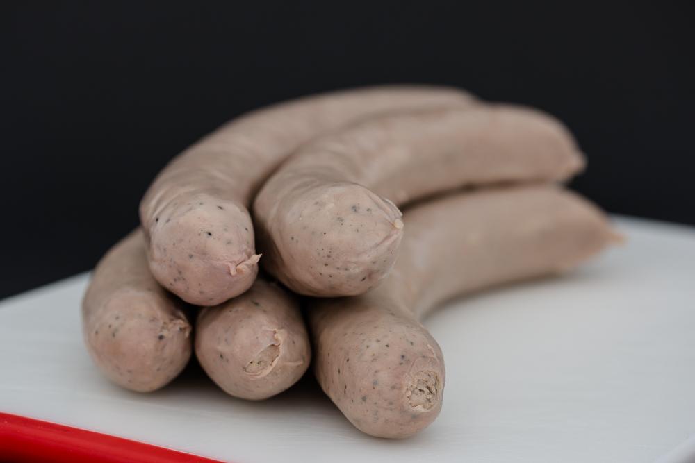 Art.-Nr.: 2012 - Bio-Schweine-Bratwurst gebrüht